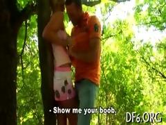 cute virgin receives bare