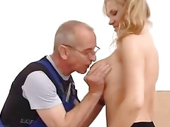juvenile girl screwed in the ass by old