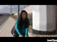 tia ling asian pornstar wetting her jeans