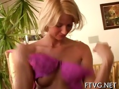 angel fists her own pussy