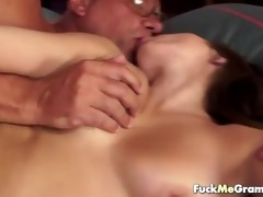 horny old granddad receives lucky