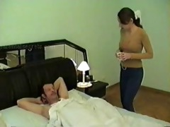 daddy fuck his daughters friend for breakfast