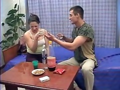drunk brother and sister fucks while parents not