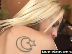 youthful teen daughter abuse
