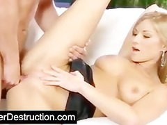 young cutie pounded hard by big penis