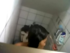video - wife sister bathroom hidden web camera spy