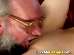 grandpa gets indeed lucky