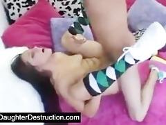 monster teen mouth destruction