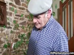 older man spies on anal sex lovers