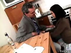 slutty teacher turns sexy coed into a impure doxy