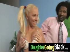 trespassing teen gets interracial 23