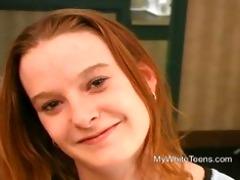 18yr old redhead teen casting