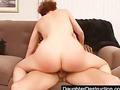 juvenile daughter fucked hard