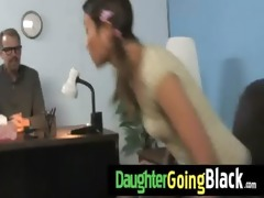 new darksome stepdad punishes hot daughter for