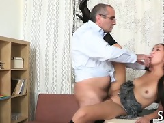 hot angel is getting drilled
