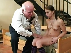 old grandpa fucking youthful babe