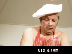 punchy oldman bonks with hot youthful blond in