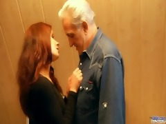 redhead slutty playgirl awards generous grandpa