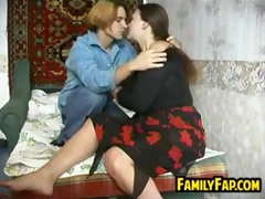russian mother in law gets fucked