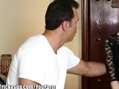 trickyspa sly masseur thrusts knob into polish