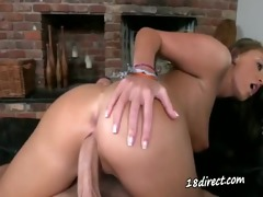 prime nubile sorority-girl making love