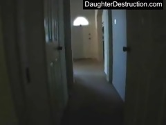 young daughter raw fucked in backseat