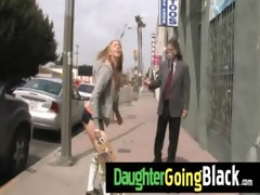see my daughter going black 25