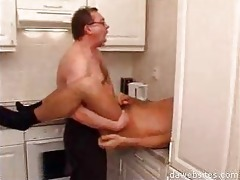 stud in glasses anal drilling his younger ally in