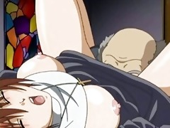 hentai sister doing blowjob and gets drilled