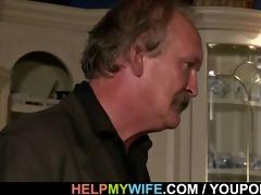 hot wife sucks and bonks stranger