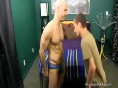 sweet daddy and sexually excited son fuck with