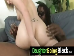my daughter is drilled hard by my black ally 20