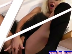 british playgirl brings herself to climax