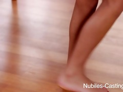 nubiles casing - tiny teen cum-hole stretched by